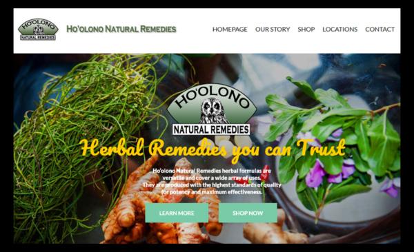Ho'olono Natural Remedies